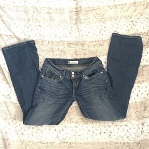 Levi 524 Too Superlow Blue Jeans